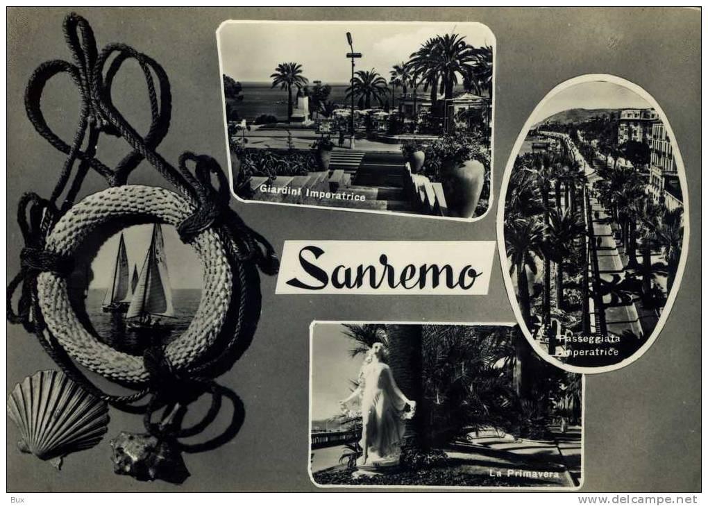 LIGURIA - SANREMO     VIAGGIATA  COME DA FOTO - San Remo
