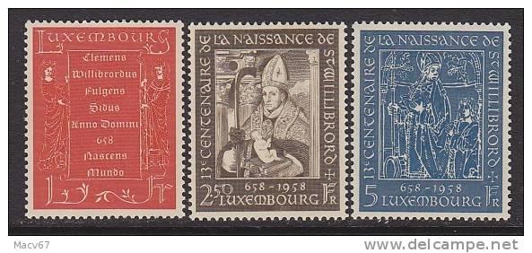 Luxembourg  334-6  **  RELIGION - Ungebraucht