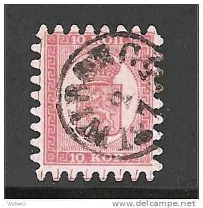 Fin Mi.Nr.4B/ FINNLAND -  2.7.1865  Wiborg (Kabinett) O, Gestempelt - Oblitérés