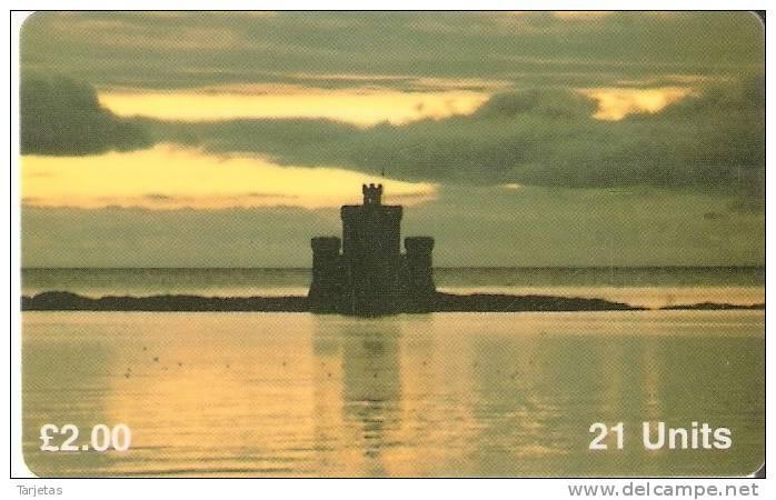 MAN 87 TARJETA DE LA ISLA DE MAN DE TOWER REFUGE DOUGLAS - Isla De Man