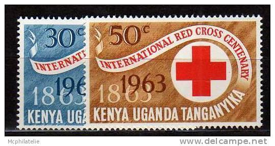 Republic Of Kenha N° 127 / 128 ** - Kenya (1963-...)