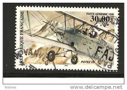 Fra Mi.Nr.3310/ Flugzeug 1998 O - Frankreich