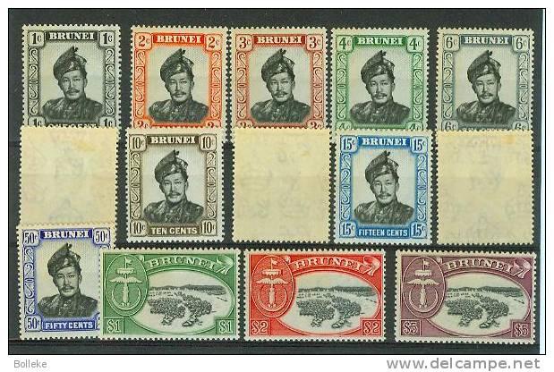 Brunei  -    Yvert 84/ 97 * - MH - Brunei (1984-...)