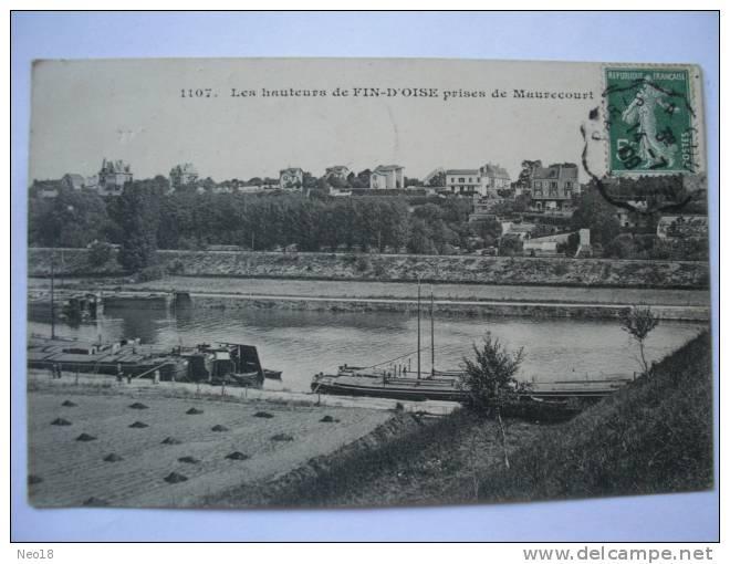 MAURECOURT FIN D OISE PENICHE - Maurecourt