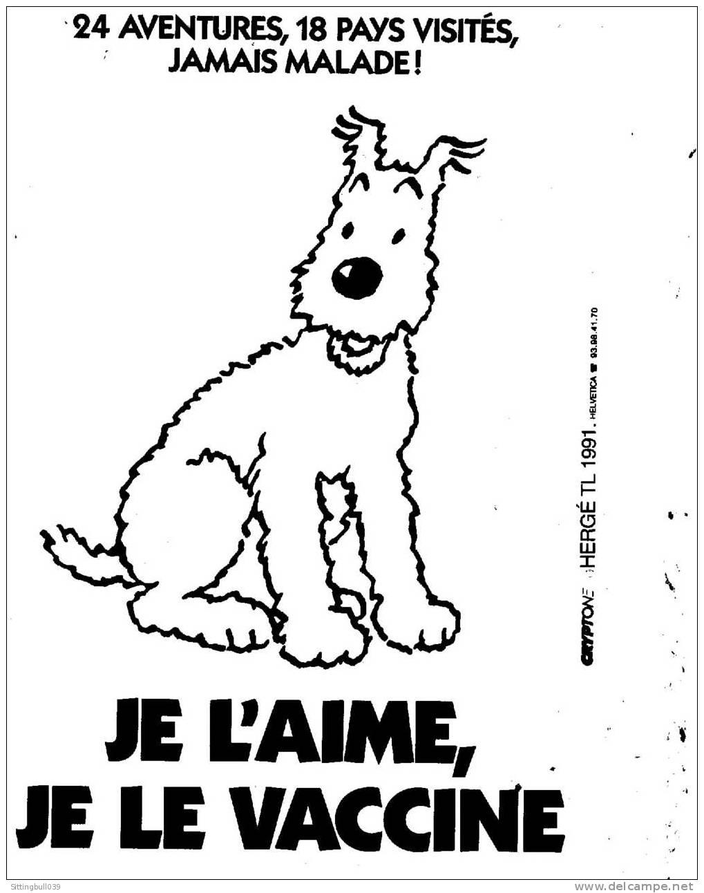 Tintin Milou Tintin Carte Postale Milou je