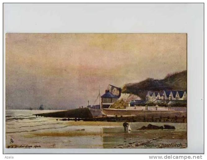 006681  -  RICHARDSON  -  Seashore, Bonchurch - Illustrateurs & Photographes