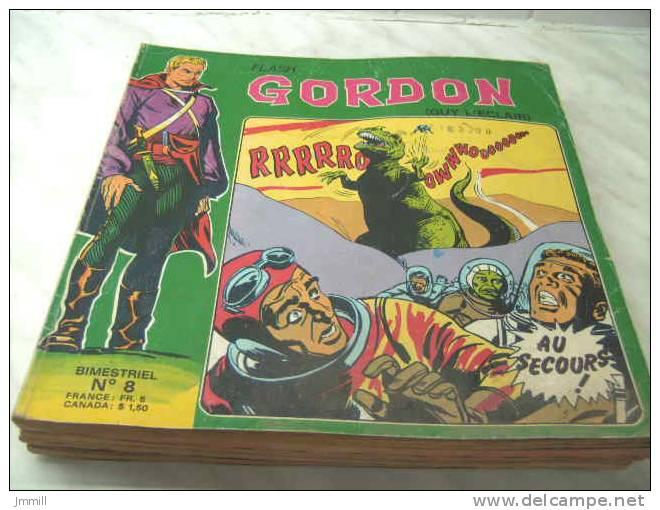 Flash Gordon : Album 8 Editions Des Ramparts Guy L´éclair Format 22 X 26 Cm - Flash