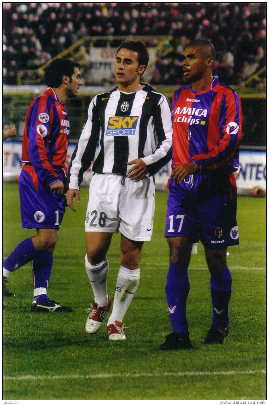 CANNAVARO JUVENTUS Original Photo-foto Originale Football Player Calciatore - Calcio