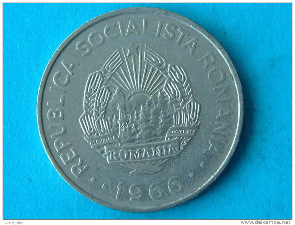 3 LEI 1966 VF / KM 96 ! - Roumanie