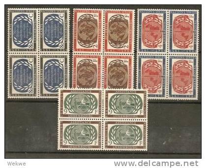 Lux Mi.Nr.537-40/  LUXEMBURG - 10 Jahre UNO 1955 ** MNH - Luxemburg