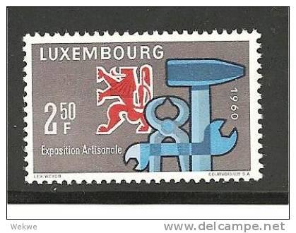 Lux Mi.nr.622/ LUXEMBURG -  Handwerksausstellung 1960 ** - Luxemburg