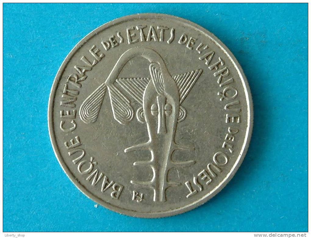 L'AFRIQUE DE L'OUEST / WEST AFRIKA 1969 - 100 FRANCS XF / KM 4 - Monnaies