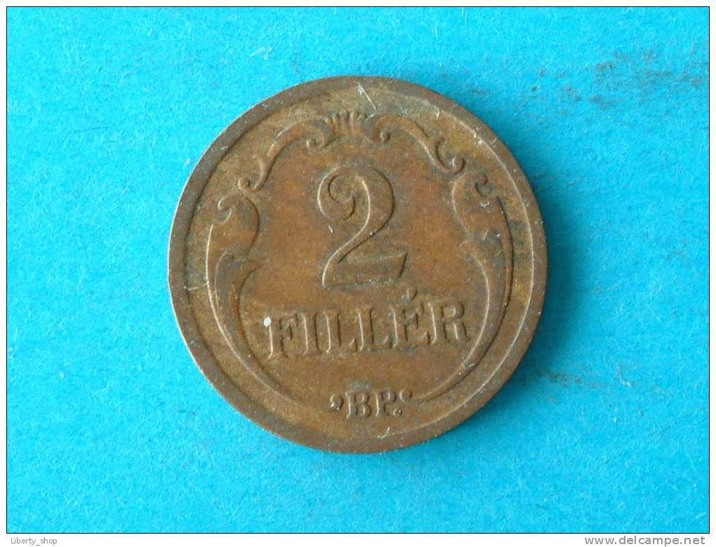 2 FILLER 1931 BP XF / KM 506 ! - Hungary