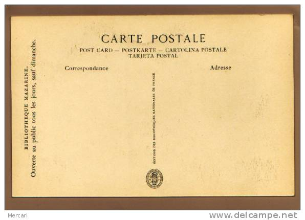 Bibliothèque MAZARINE, Reliure Aux Armes Du Cardinal Mazarin - District 06