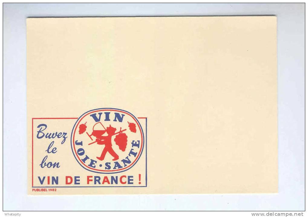 Carte PUBLIBEL Vin De France 1982  Neuve - Sans Empreinte De Timbre - Statut De SPECIMEN  --  B2/338 - Stamped Stationery