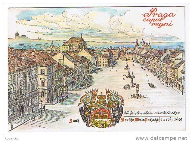 Praga Praha Caput Regni - Tchéquie