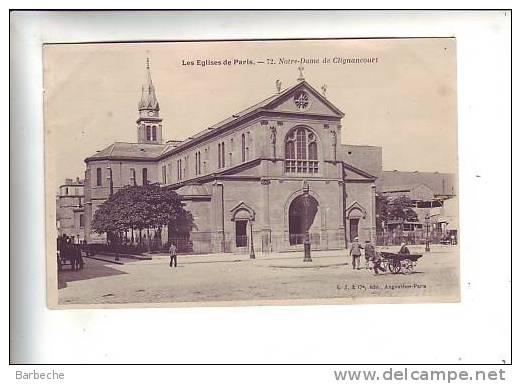 75. Les Eglises De PARIS .- Notre-Dame De Glignancourt          75/A5 - Non Classés
