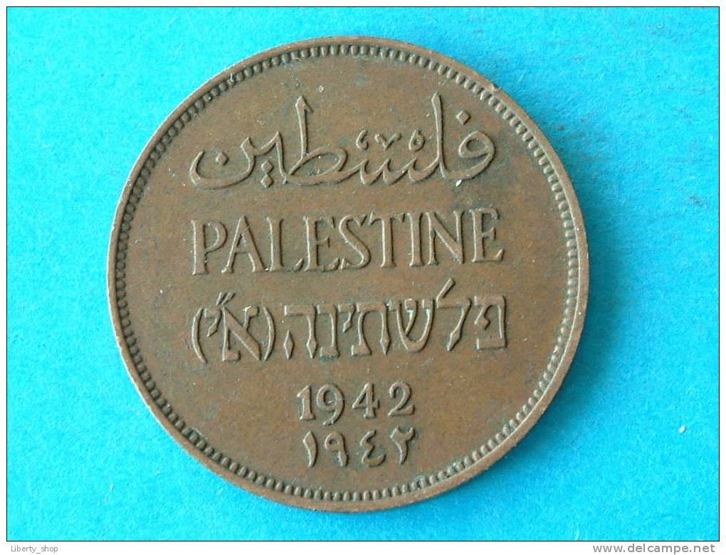 PALESTINE / TWO MILS 1942 XF KM 2 / ** PALESTINA ** ! - Autres – Asie
