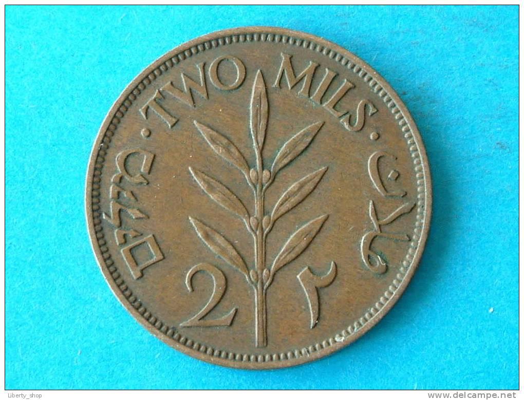 PALESTINE / TWO MILS 1942 XF KM 2 / ** PALESTINA ** ! - Monnaies