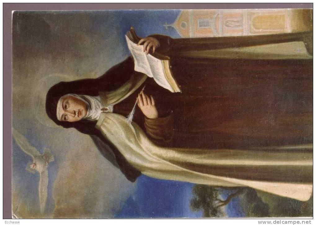 La Reformadora Del Carmelo Escribe Sus Libros Francisco Rizi 1674 - Paintings