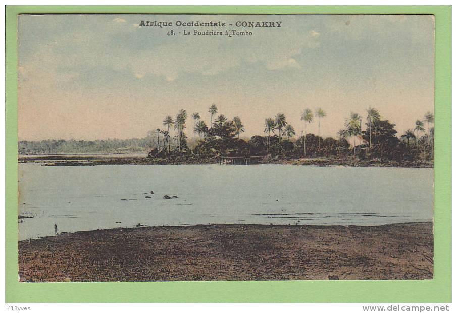 Conakry : La Poudrière à Tombo - Guinée Française