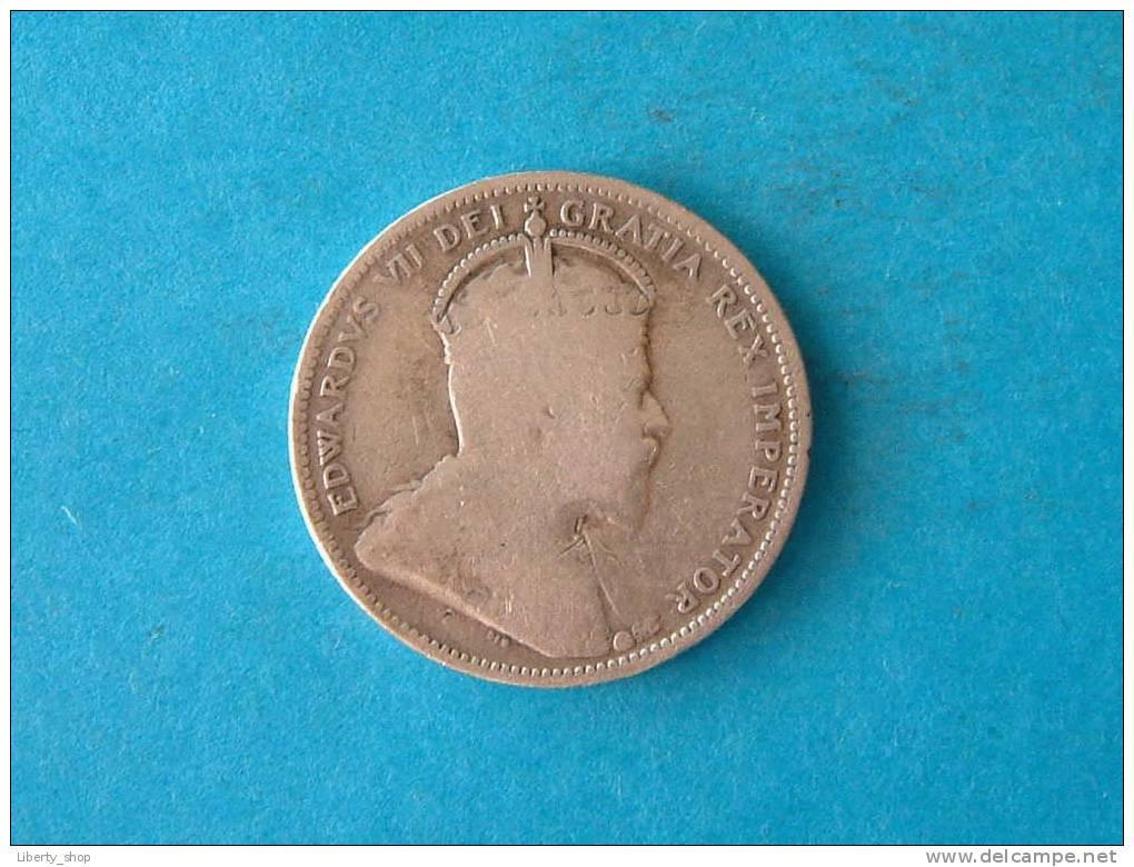25 CENTS 1906 F - KM 11 ( Silver ) ! - Canada