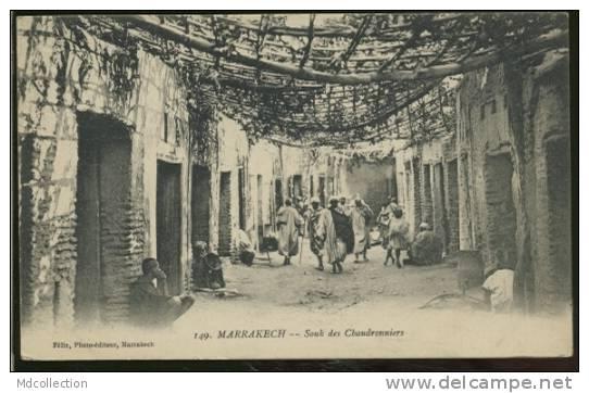MAROC MARRAKECH /  Souk Des Chaudronniers - Marrakesh