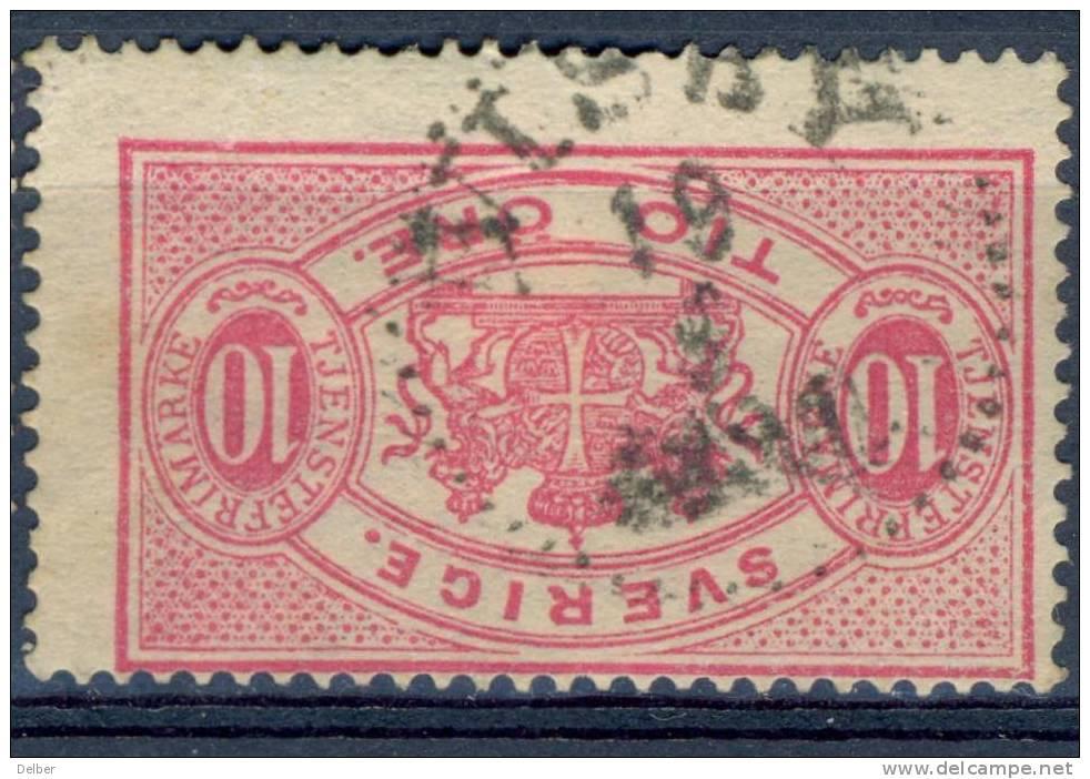 Zw593:  TJ16B:  Getand: 13: VISBY - Dienstpost