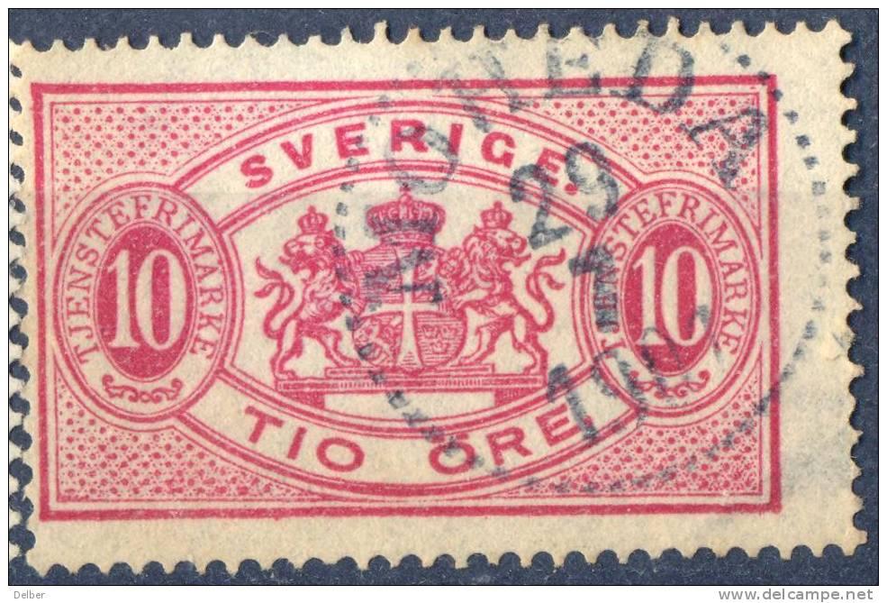 Zw567:  TJ16B: Getand: 13: MOHEDA - Dienstzegels