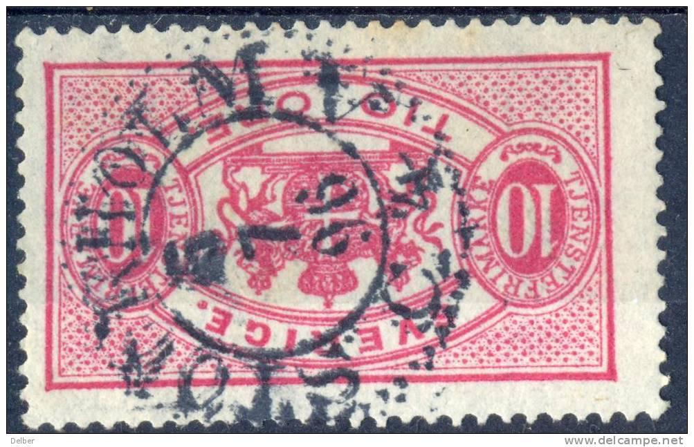 Zw564:  TJ16B: Getand: 13: STOCKHOLM N° 4 C - Service