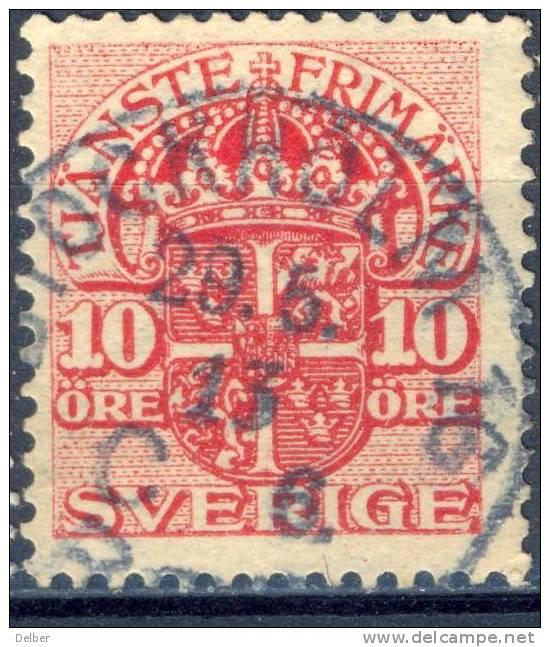 Zw522:  TJ32:  10 Öre : STOCKHOLM 16 - Service