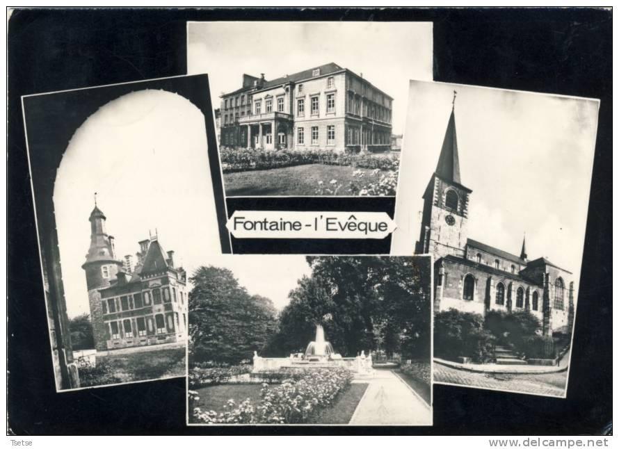 Fontaine-l'Evêque - Carte Multivues -1961 - Fontaine-l'Evêque