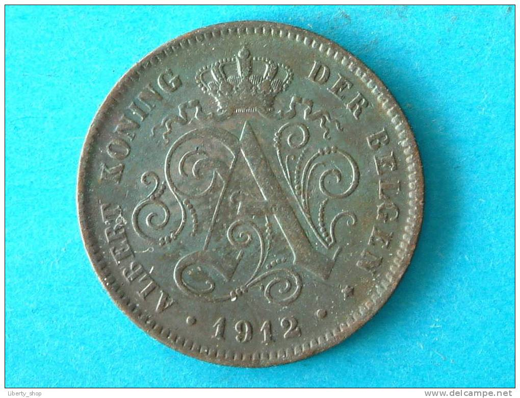 2 CENT VL - 1912 (313) ! - 02. 2 Centimes