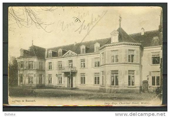 Belgique - Brabant Wallon  -  Beausart - Château De Beausart - 2 Coins Pliés - Braine-le-Comte