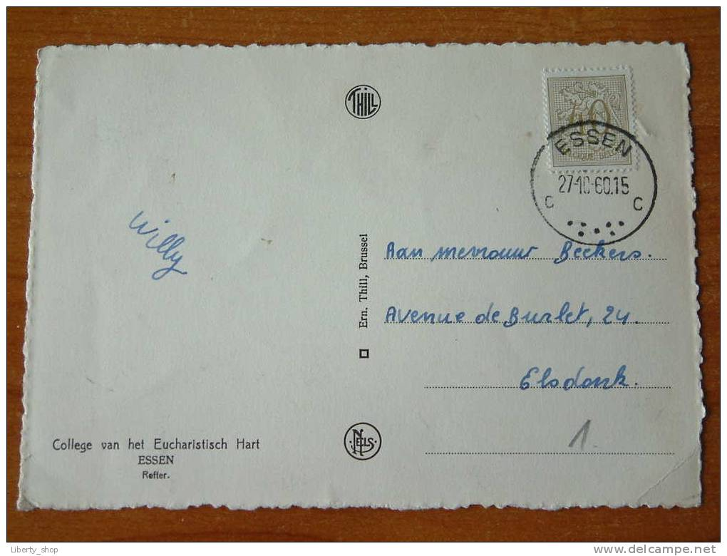 College Van Het Eucharistisch Hart - Refter / ESSEN / Anno 1960 !! - Essen