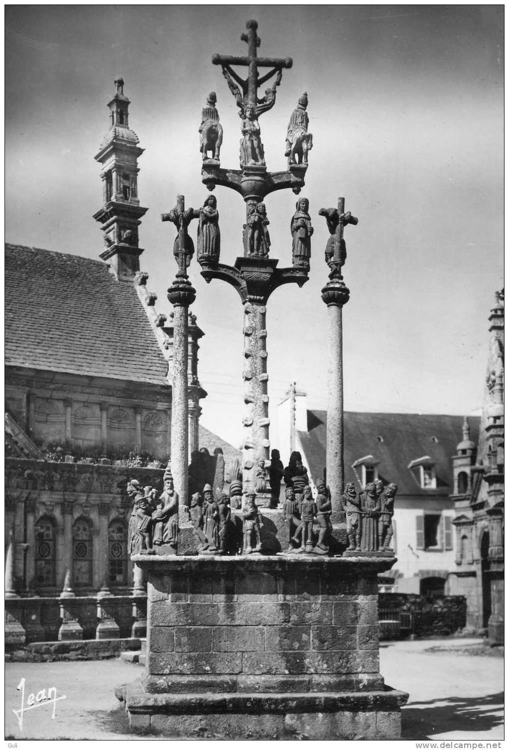 SAINT THEGONNEC  St Thégonnec  29 Finistère  -  Calvaire  -*PRIX FIXE -éditions D´art  Jean  N° 1253 - Saint-Thégonnec