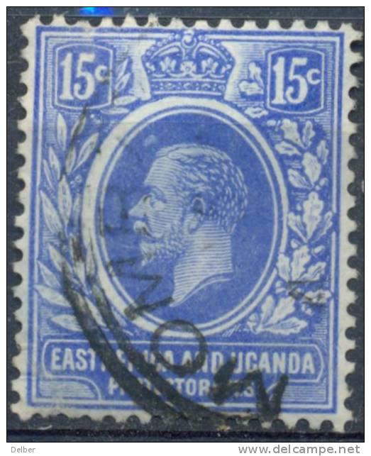 Em659: EAST AFRICA AND UGANDA PROTECTORATES : Y.&T. :.N° 129 - Kenya, Uganda & Tanganyika