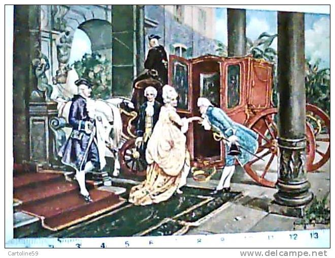 CARROZZA ILLUSTRATA PAGLIANO  LA RIVERENZA N1950 CA2361 - Taxi & Carrozzelle