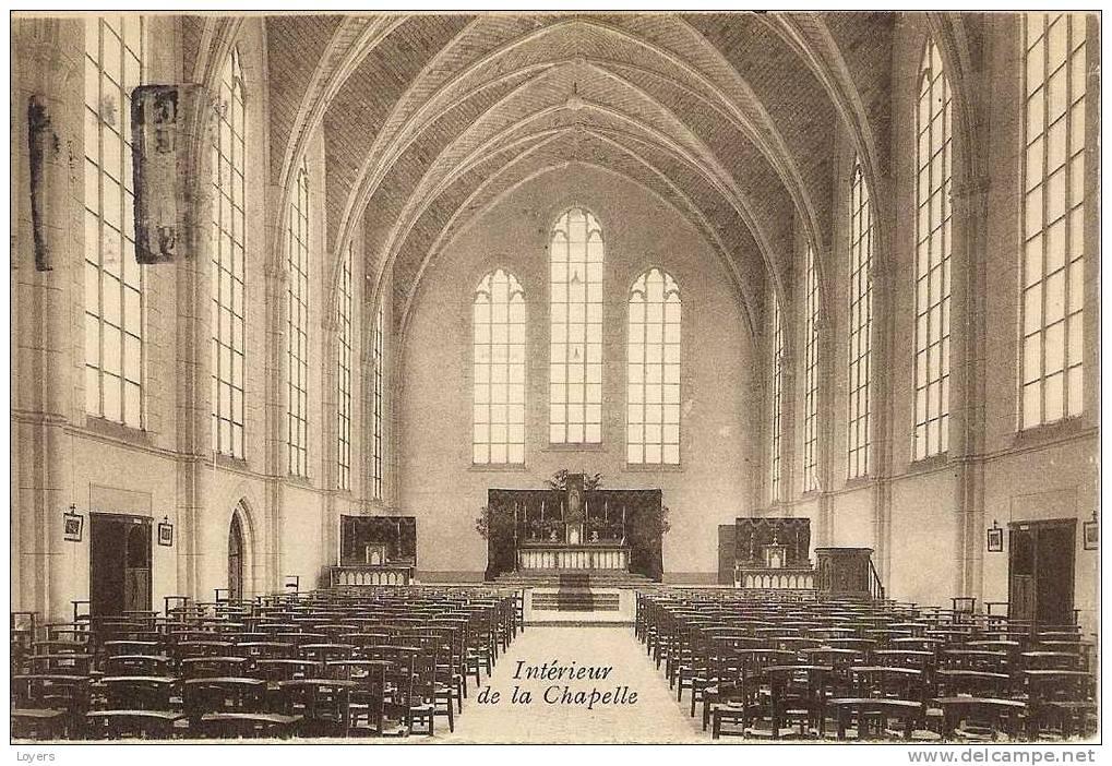 GODINNE   -   Collège St. Paul.  Intérieur De La Chapelle. - Yvoir