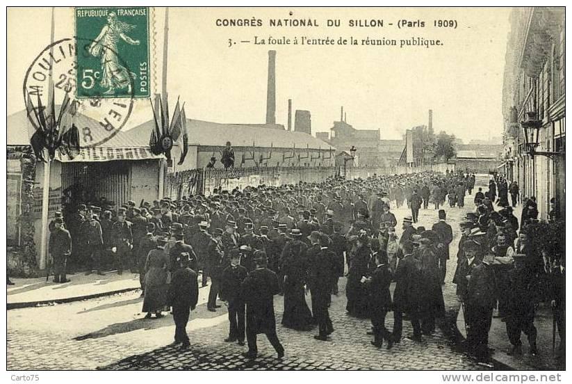 Histoire - Paris - Congrès National Sillon - Esperanto - Usine - Historia