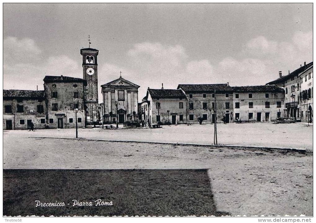 Precenicco  Piazza Anni 50 - Udine