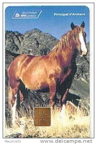 AND37 - CHEVAL (bon état) - Andorre