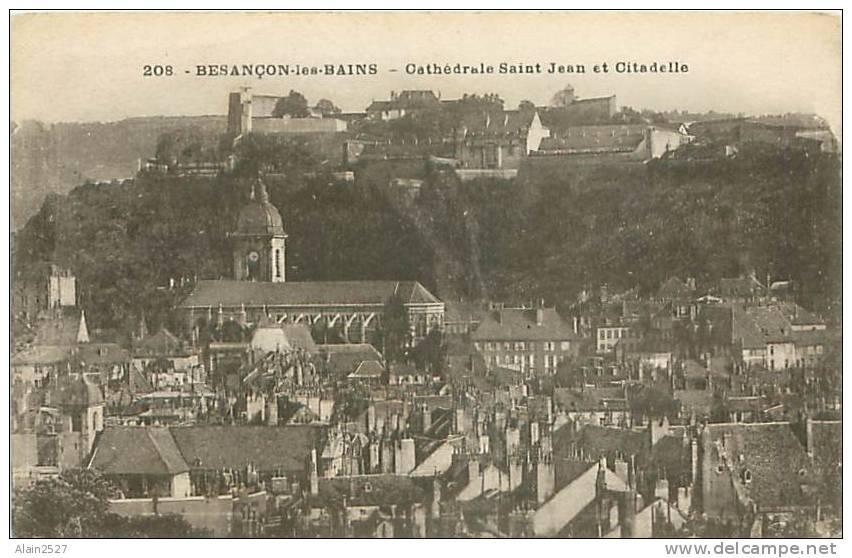 25 - BESANCON-les-BAINS - Cathédrale Saint Jean Et Citadelle (Les Editions C.L.B., N° 208) - Besancon