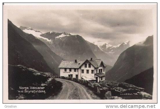 NORGE VIDESAETER MED STRYSFJELDENE 706  CP PHOTO - Norvège