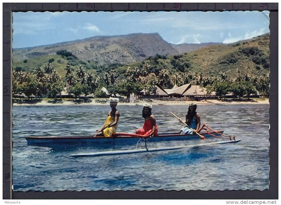 N8232 TAHITI LE CHARME DE L'HOTEL ANIMATED - Tahiti