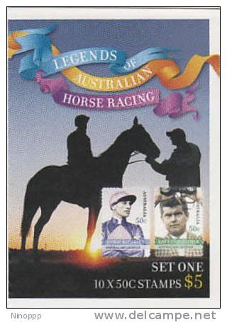Australia-2007 Legends Of Australian Horse Racing Bklt Set One - Booklets