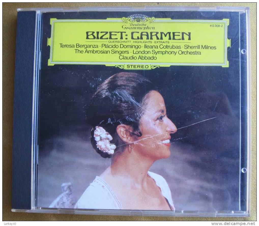 1 Cd Carmen -   Bizet, Georges - Klassik