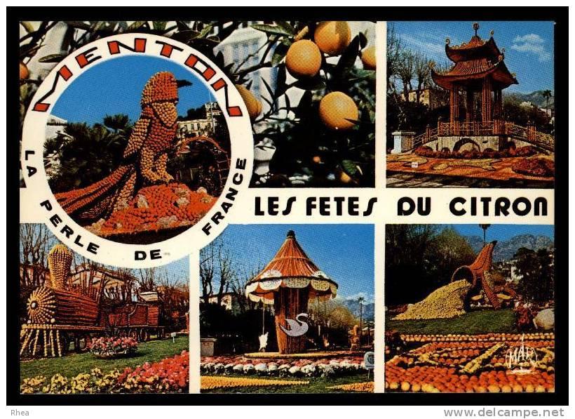 06 Menton Fete Du Citron Orange Manege D06D K06083K C06083C RH077845 - Menton
