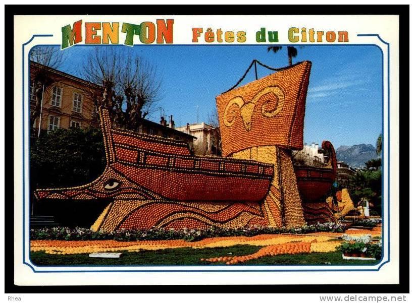 06 Menton Fete Du Citron Orange D06D K06083K C06083C RH077847 - Menton