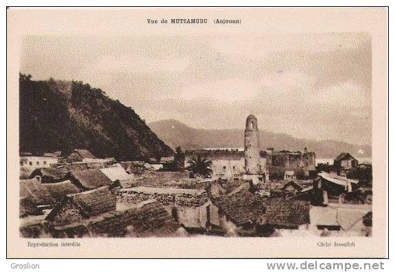 VUE DE MUTSAMUDU (ANJOUAN) - Comorre
